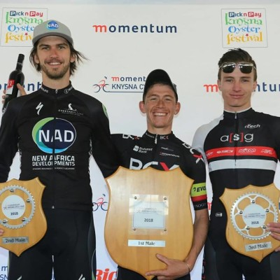 Matt Beers, Chris Jooste and Theuns van der Bank